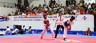 CJ National Youth Taekwondo Championship 대회 모습